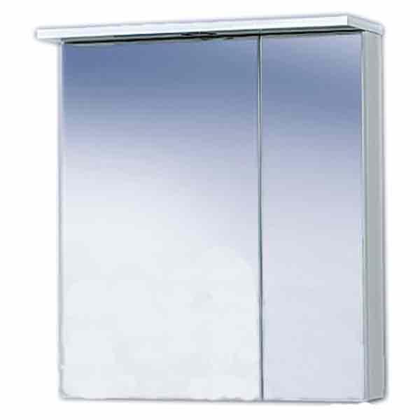 Купить Полка зеркальная Эмили 60, арт. AL.04.60.10.L (125х700х600)