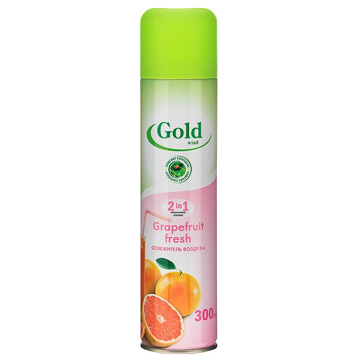 Купить Освежитель воздуха Gold Wind Grapefruit fresh, 300 мл
