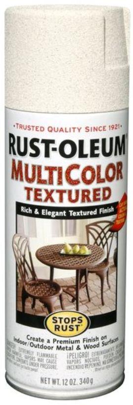 Купить Эмаль-спрей Rust Oleum Stops Rust многоцветная текстурная Карибский песок 0.34 кг