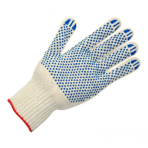 Перчатки с ПВХ 604 7, 5 нитей
