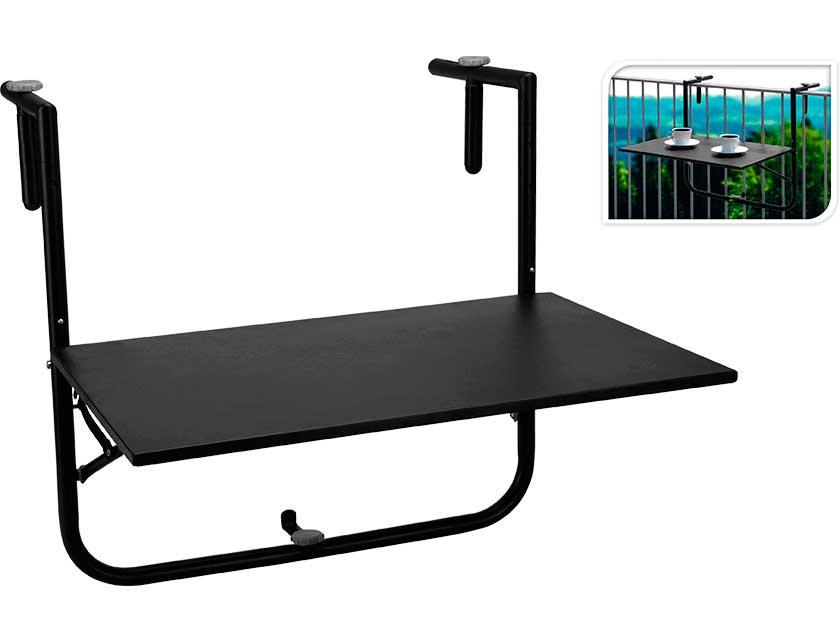 Производитель не установлен / Стол балконный DW2300410, 60х40 см черный