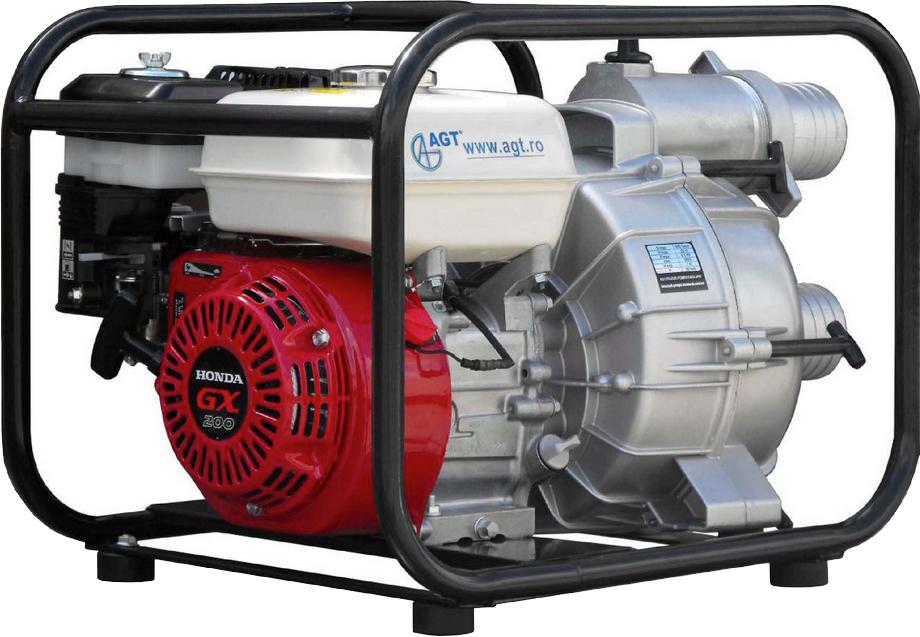 Мотопомпа грязевая AGT WPT 30 HX  - купить со скидкой