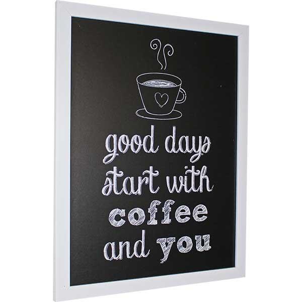 Купить Картина со смыслом Кофе и мы. Темная 1301008, 34х44 см