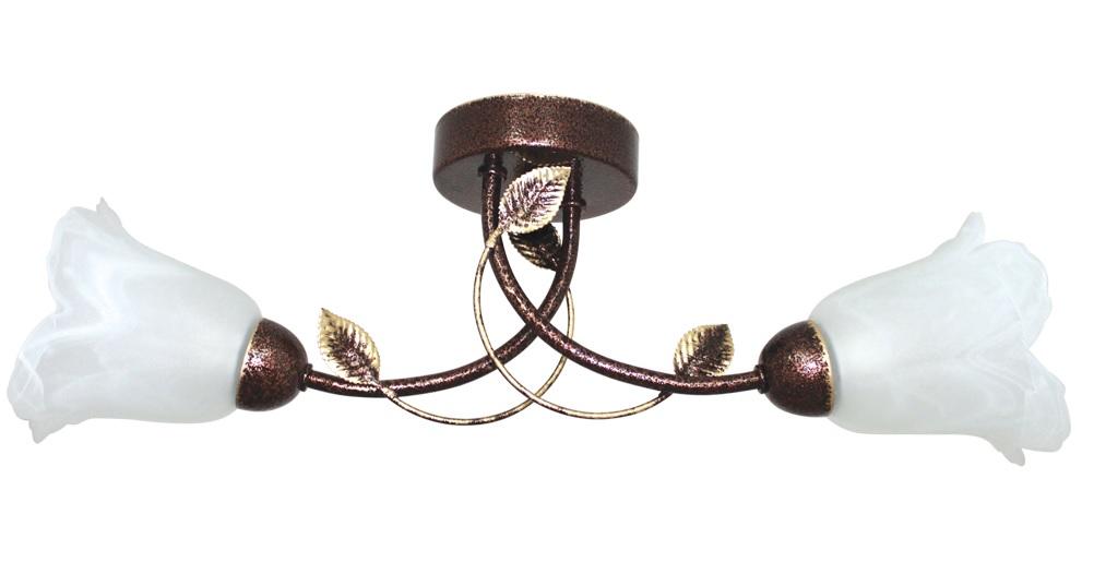Купить Светильник подвесной Maxel Мотив 122 (Медь античный) (Плафон 62333) НСБ 01-2х60-103