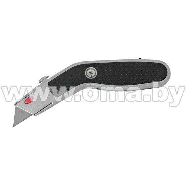 Купить Нож выдвижн. (лезвие 62мм) металл. с эрг. вставк. дельфин , +4лезвия PROLINE блист. арт.30311