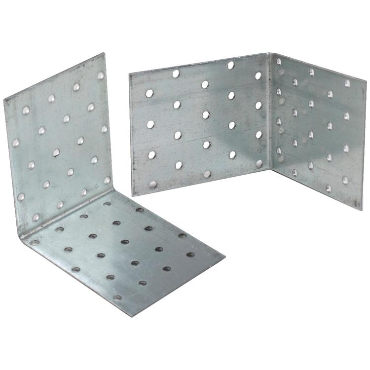Купить Уголок соединительный оцинкованный Перфорация 60х60х100х2 мм
