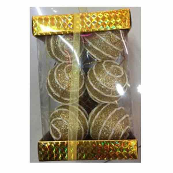 Купить Набор ёлочных шаров X15029G5, 12 шт, 5 см