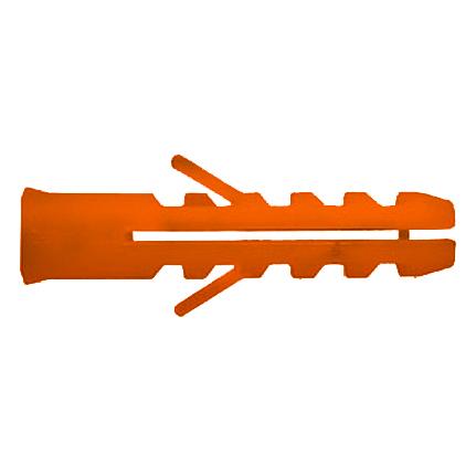 Купить Дюбель полипр.оранжевый с усом 6х30 (100шт)