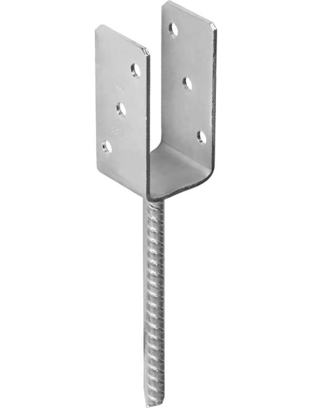 Купить Основание столба PS 80 U 81x120x4 mm (тяжелое)