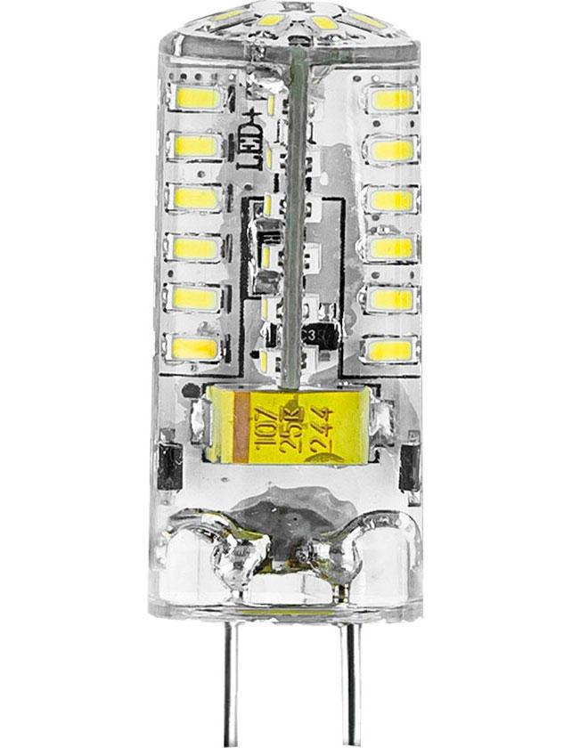Купить Лампа светодиодная Gauss GY6.35 капсула 3Вт 150-265В 2700K теплый свет