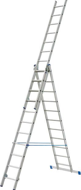Купить Лестница трехсекционная Elkop HOBBY VHR H 3x11