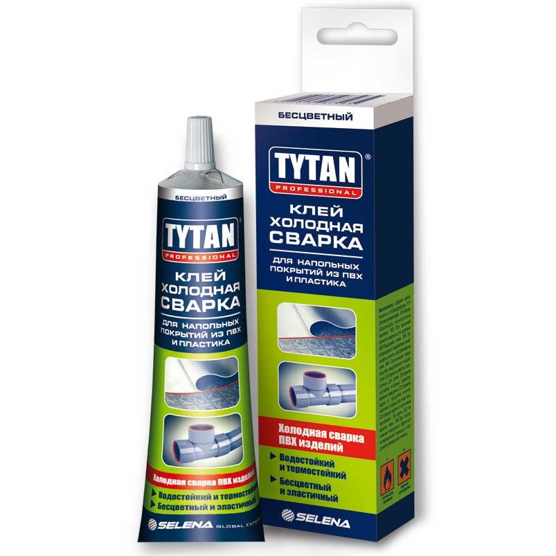 Купить Клей холодная сварка Tytan Professional бесцветный 100 мл