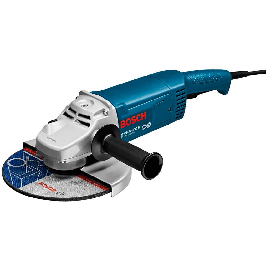 Купить со скидкой Угловая шлифмашина Bosch GWS 20-230 H Professional, 0.601.850.107