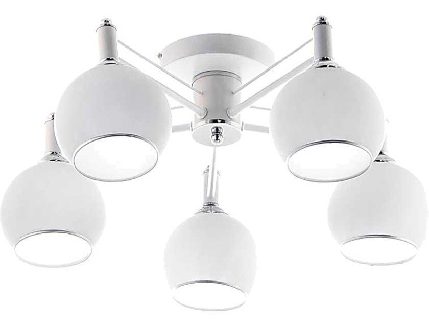 Купить Светильник подвесной (CL) НПБ 02-5х60-105 RH8056/5 белый/хром 5*60Вт, Е27 ООО Айтин-Про