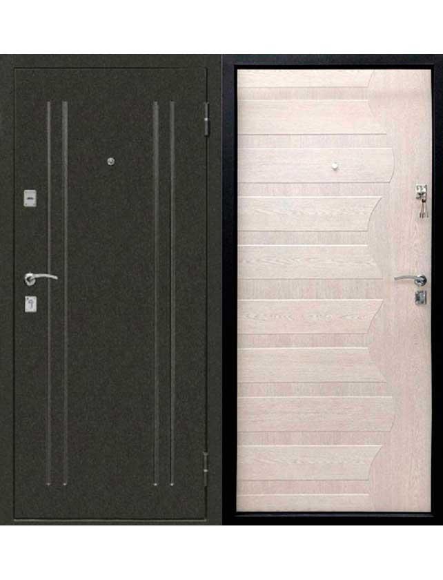 Купить со скидкой Дверь металлическая МД-75 2050х860х65/L