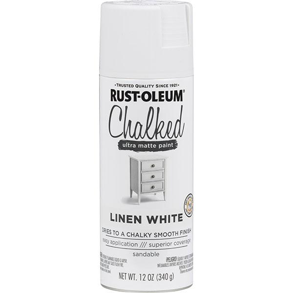 Купить Краска CHALKED RUST-OLEUM с эффектом винтажной пастели белый лен 0, 34кг