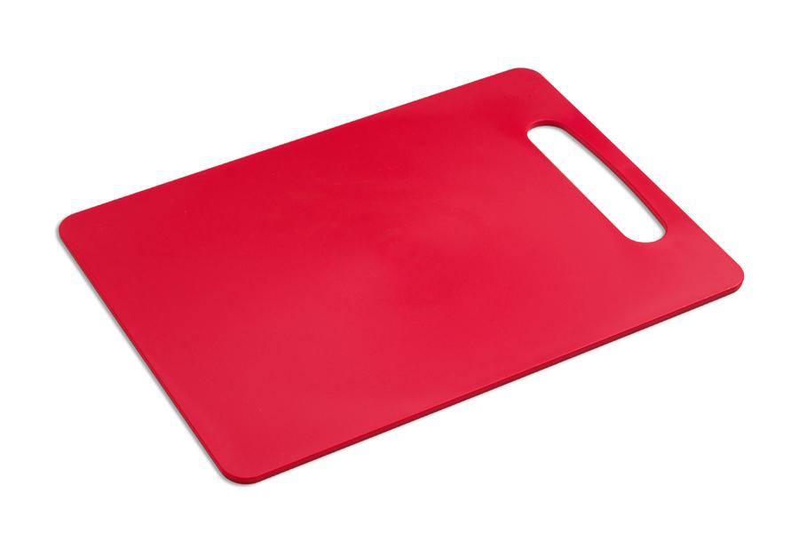 Купить Доска разделочная пластиковая (арт.101) цвет-красный