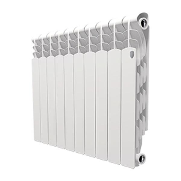 Купить со скидкой Радиатор биметаллический Royal Thermo Revolution Bimetall 500 - 10 секционный