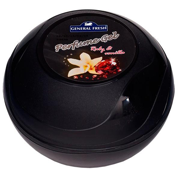 Купить Освежитель воздуха гелевый General Fresh Perfume Gel рубин и ваниль, POL-HUN 95-4, M.Bielska sp.j.ul. Koluszki, 11 Listopada 65, Польша.