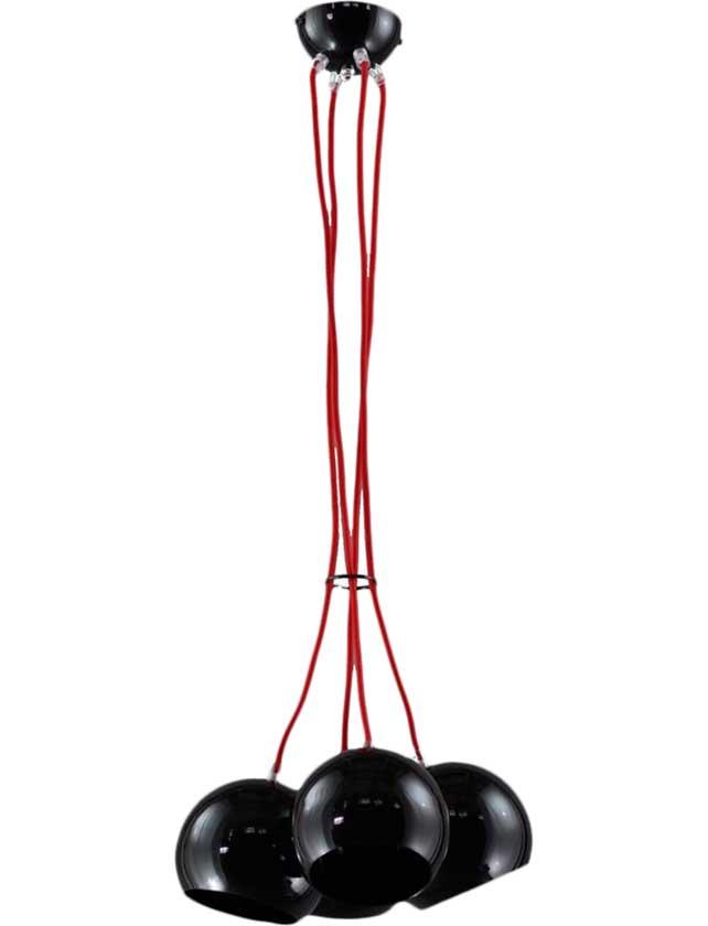 Купить Светильник подвесной (LOFT) Orbita 4 Black 463/4 (4*60Вт, Е27) Emibig