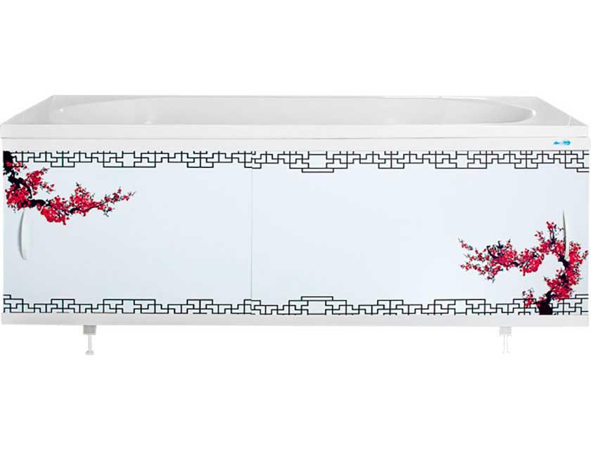 Купить Экран для ванны Ваннбок Сакура, 1, 7 м