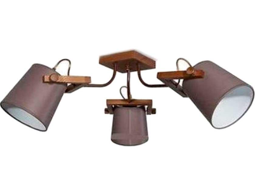 Купить Светильник подвесной (ECO) Наоми 20203 НСБ дуб (3*60Вт, Е27) ООО Белсветоимпорт