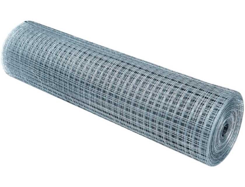 Купить Сетка сварная D 0, 8 мм, ячейка 19х19 мм, 1х10 м