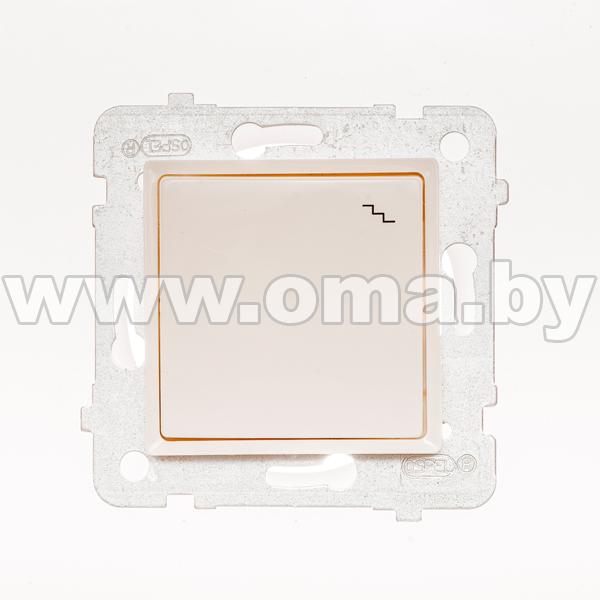 Купить OSPEL ROSA сл.к. Выключатель 1-кл. проходной (переключатель) LP-3Q/m/27