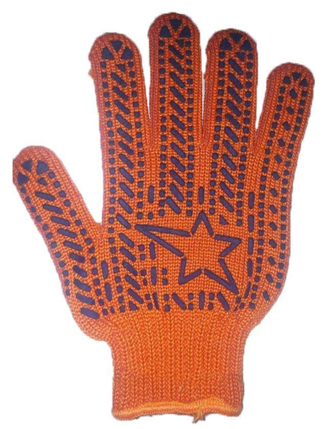 Купить Перчатки трикотажные Звезда с ПВХ 564