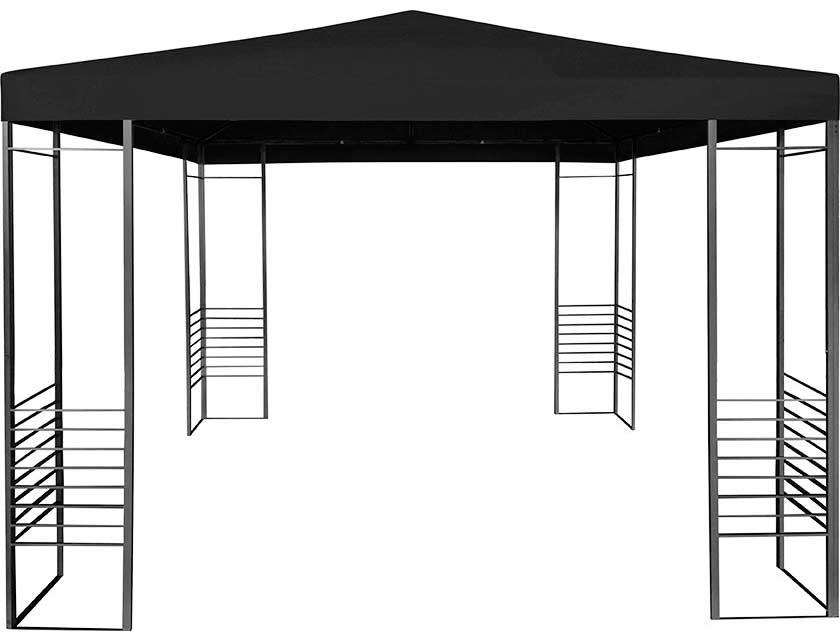 Купить Шатёр садовый черный 300х300 см DW8100610