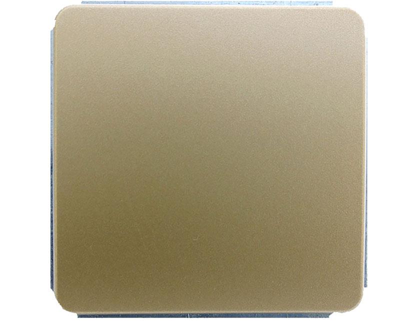 Купить Выключатель одноклавишный проходной без рамки Gusi Extra С1В4-005 золото