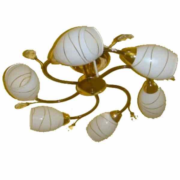 Купить Светильник подвесной (CL) MH22933/6 BK+FGD (6*40Вт, Е27) ИП Зубович