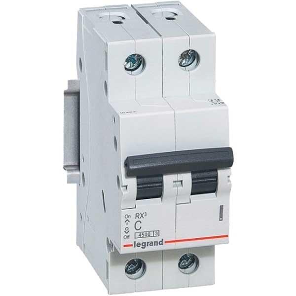 Купить Выключатель автоматический RX3 2P C16A 4, 5кА C 419697 Legrand