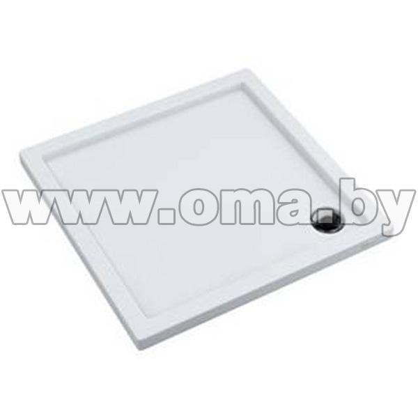 Купить Поддон душевой акриловый ламинированный iREGIO Coria 80x80x5, 5 (арт. BR260)