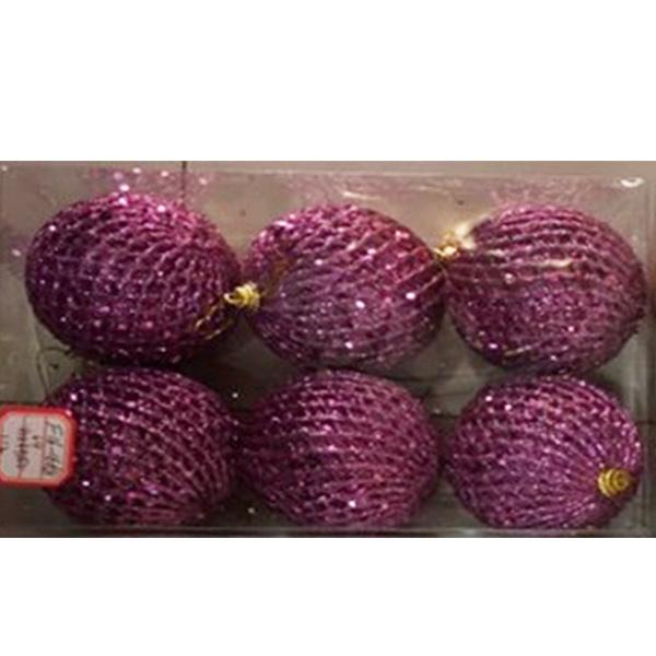 Купить Набор шаров ёлочных 6 шт. 6см, арт. F15-15226
