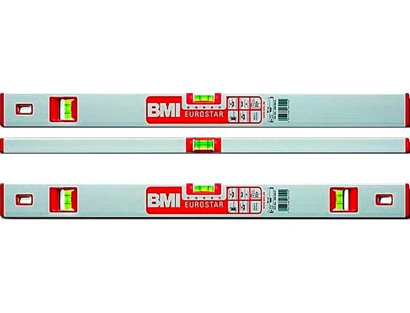 Купить Уровень брусковый BMI EUROSTAR, 2-глазковый, 0, 5 м