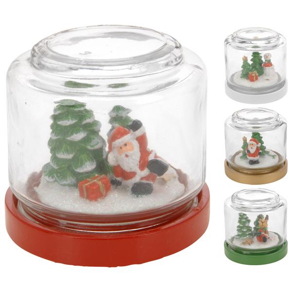 Купить Сувенир новогодний DH9855490 в ассортименте, стекло/полистоун