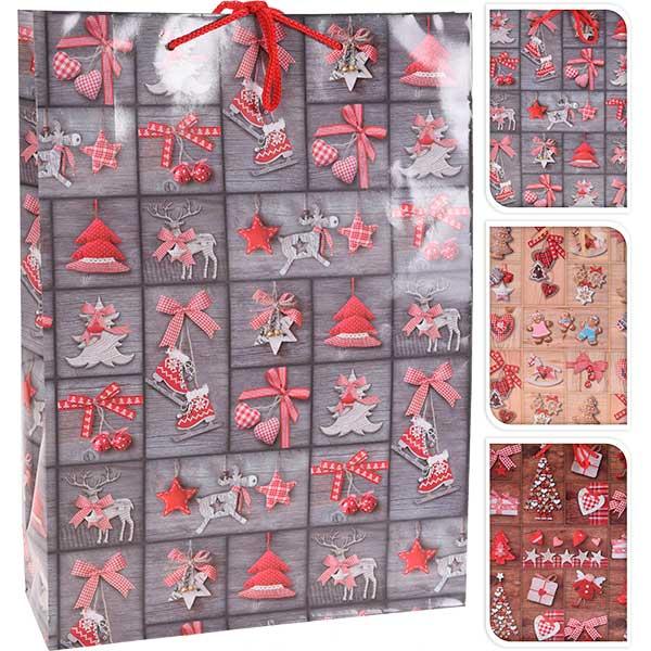 Купить Подарочный пакет ABD810430, 25х8, 5х34, 5 см, бумага