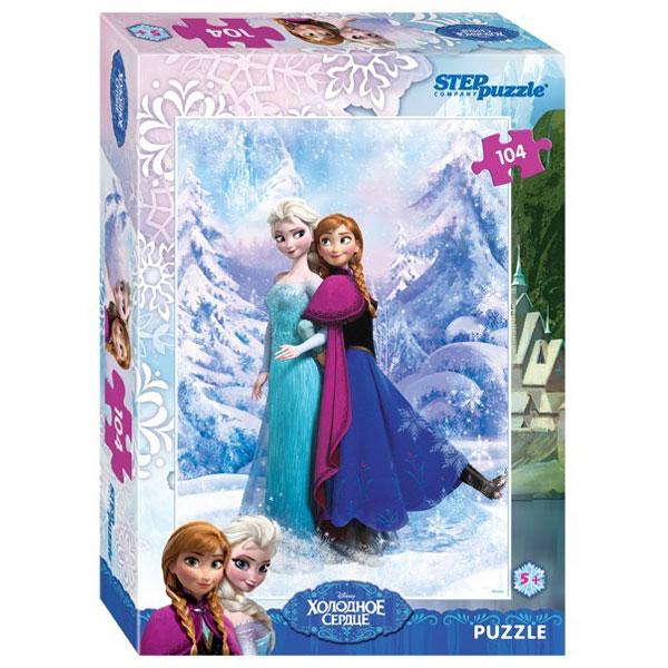 Купить Мозаика puzzle 104 Холодное сердце арт. 82126