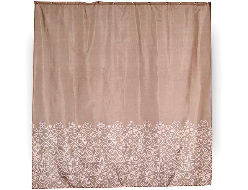 Купить Штора для ванной тканевая 180x180 см Espiral. Арт. 631-01 (т.м VERRAN)