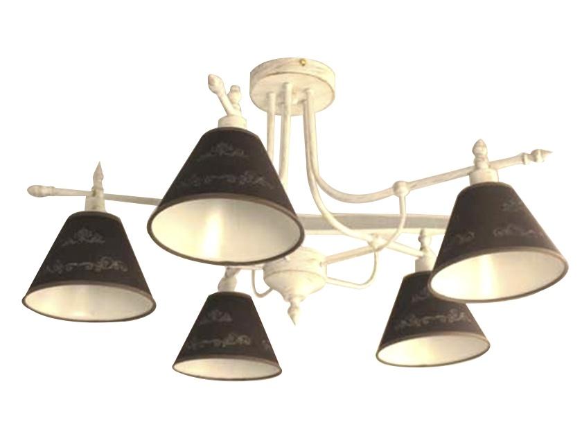 Купить Светильник подвесной M НПБ 02-5х40-102 YCD012/5 белый/золотая патина
