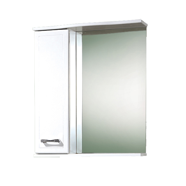 Купить Полка зеркальная Ника 60 AN.04.60.00.R, 700х600х160 мм
