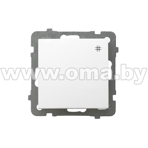 Купить OSPEL AS бел. Выключатель 1-кл. крестовой LP-4G/m/00