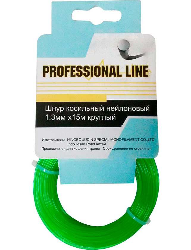 Купить Шнур косильный нейл.1, 3мм х15м круглый PROFESSIONAL LINE