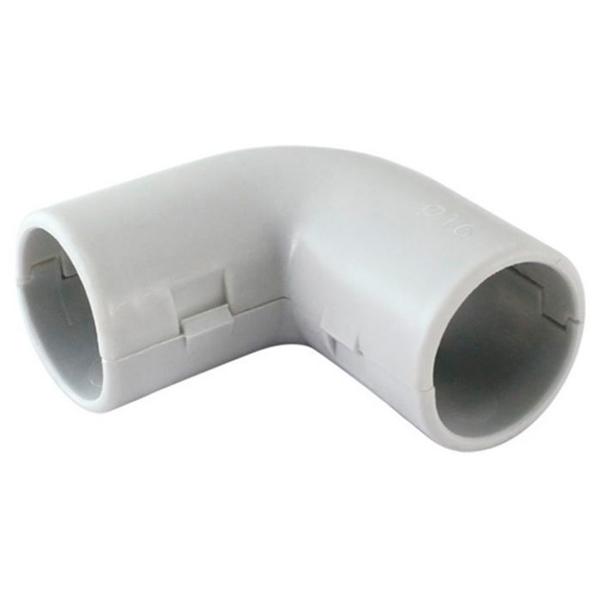 Купить Угол соединительный для трубы 90 градусов, TDM, d-25 мм, 5 шт, SQ0405-1033