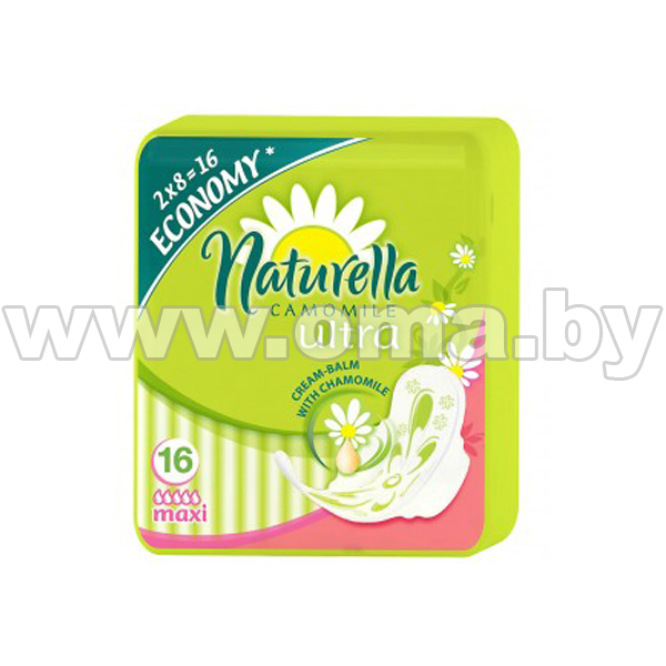 Купить Г Женск.г/прокл. Naturella Camomile Classic Maxi Duo 16шт