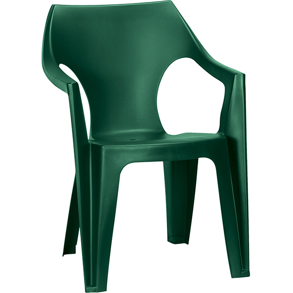 Купить Стул Данте темно-зеленый, полипропилен, арт.171548