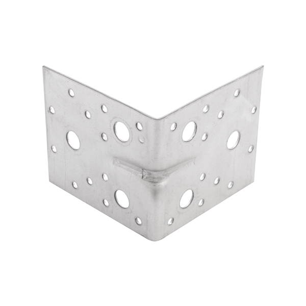 Купить Уголок крепежный усиленный ОптКреп оцинкованный, 105х105х90х2, 5 мм