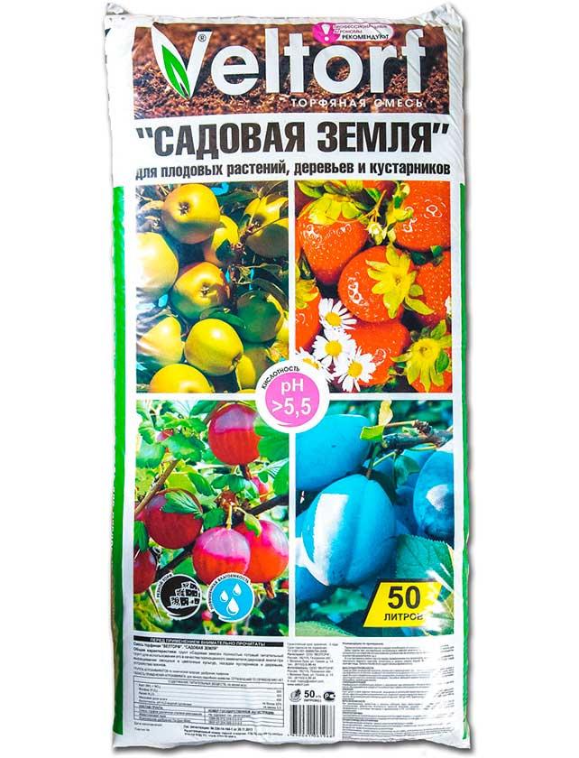 Купить Грунт д/плодовых растений Садовая земля , 50л, Велторф