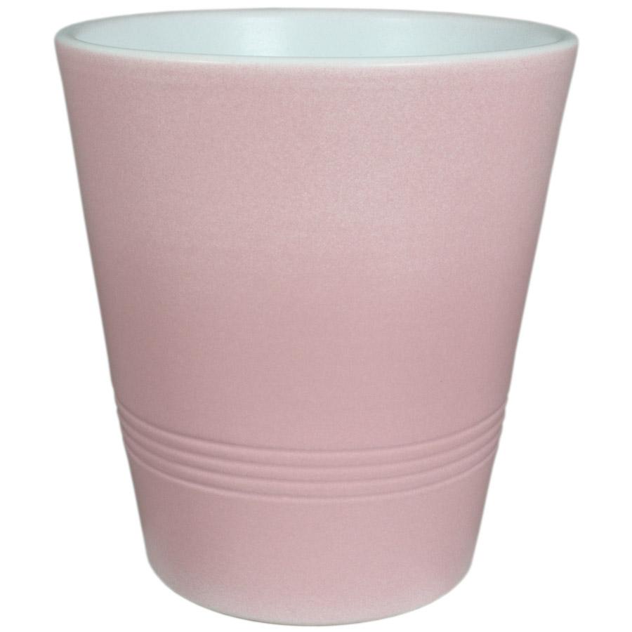 Купить Кашпо керамическое 491 15 см светло-розовый пудра